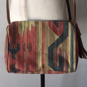 Handbags - Kilim Embroidered CrossBody Bag Purse
